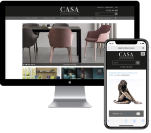 Casa Furniture web developer