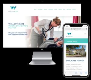 Wellgate Care web developer